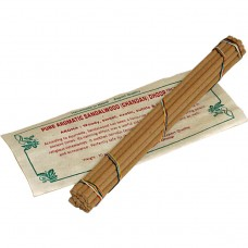 Sandeltre Ren Aromatisk Røkelse -Pure Aromatic Sandalwood (Chandan) Dhoop Incense-